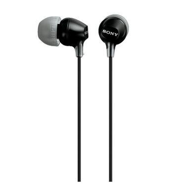 Auricular Sony MDR-EX15LPB Negro