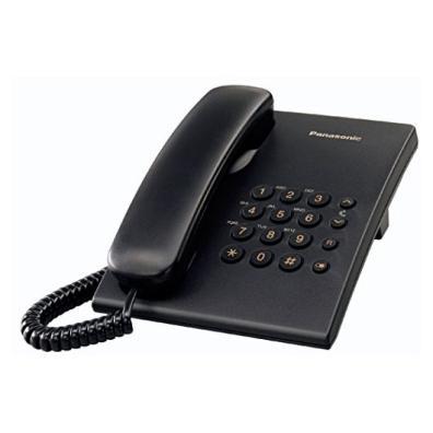 Teléfono sobremesa Panasonic KX-TS500EXB