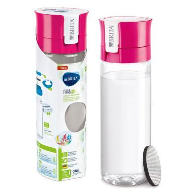 Botella filtro Brita Fill&Go Rosa