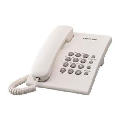 Teléfono sobremesa Panasonic KX-TS500EXW