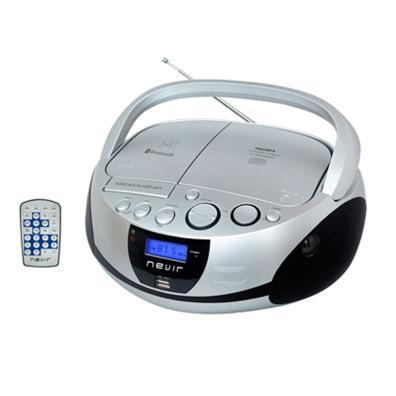 Radio CD Nevir NVR-480UB PLATA