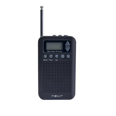 Radio Nevir NVR-135 D Negra