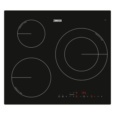 Placa de inducción Zanussi ZM6233IOK 3 Zonas / 590mm
