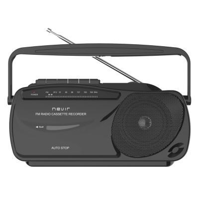 Radio cassette Nevir NVR-443T NEGRO