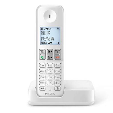 Teléfono inalambrico Philips D2501W/34