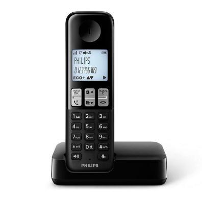 Teléfono inalámbrico  D2501B Negro
