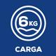 Capacidad de carga (Kg)
