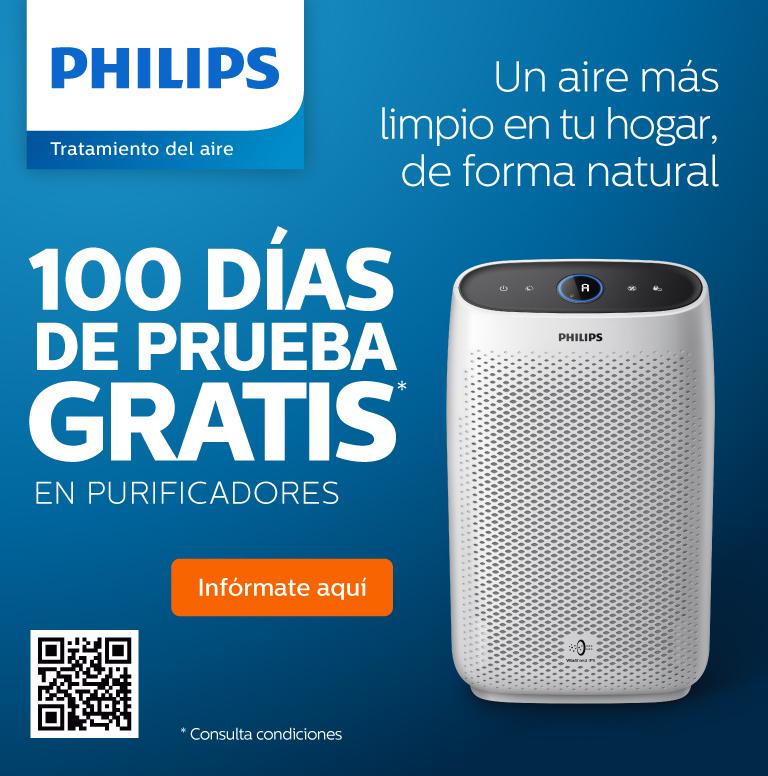 Compra uno de estos productos de Philips y consigue 100 días de prueba gratis