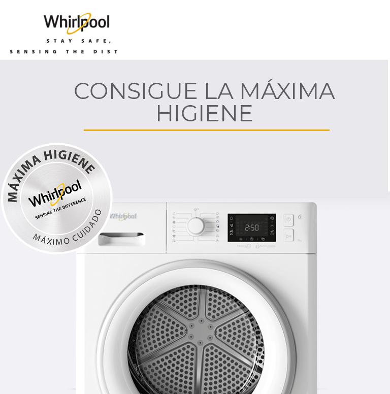 Compra tu producto Whirlpool y consigue la Máxima Higiene