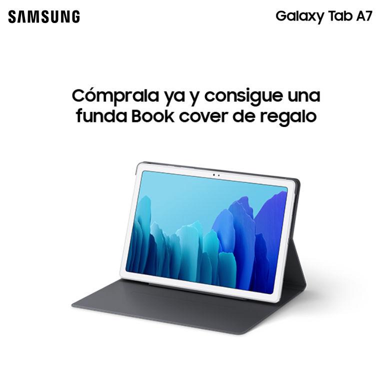 Compra una tablet Galaxy Tab A7 Samsung y consigue una funda de regalo