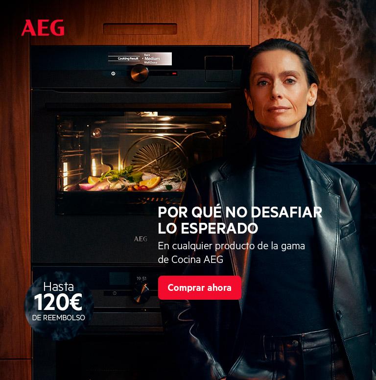Llévate hasta 120 euros de reembolso por la compra de tu electrodoméstico de cocina AEG