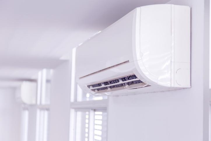 aire acondicionado diseño sencillo limpieza facil