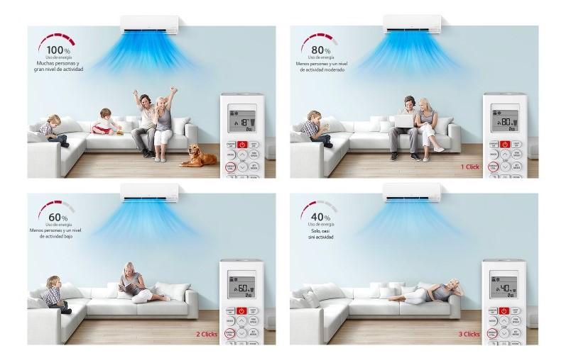 control activo aire acondicionado lg
