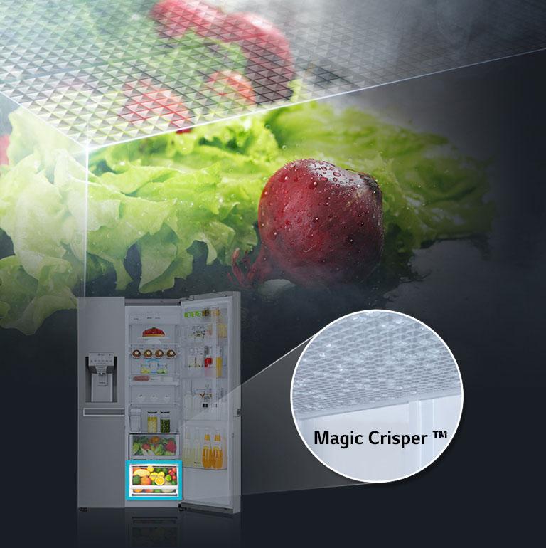 cajón magic crisper