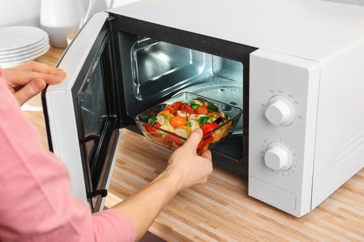 microondas menús automáticos