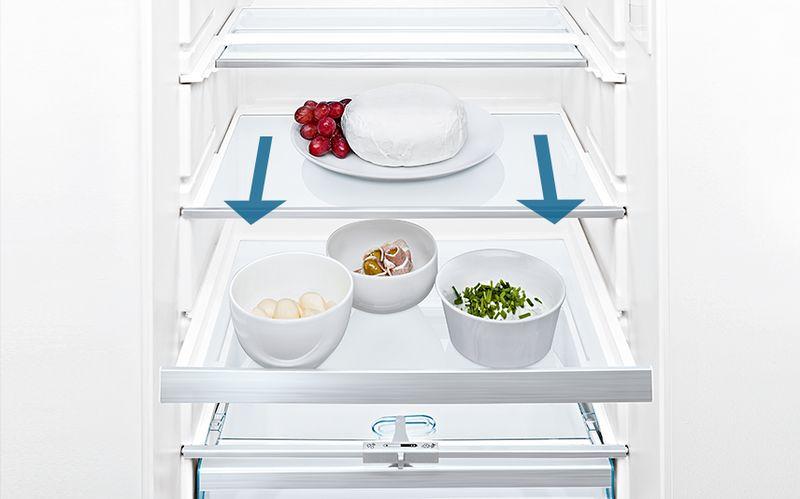 frigorífico bandejas easyaccess