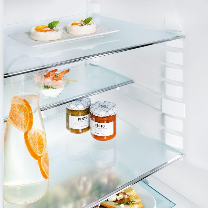 frigorífico estantes vidrio