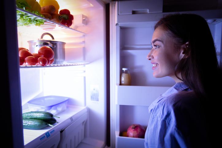 frigorífico luz LED