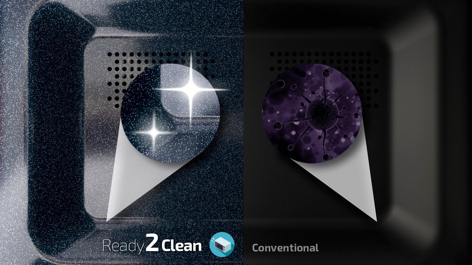 microondas ready2clean