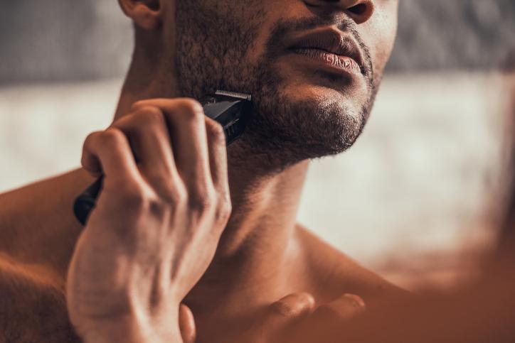 afeitado recortadora braun