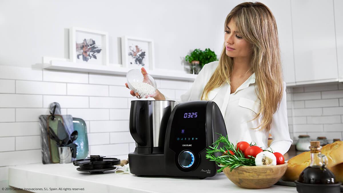 robot de cocina ajustes