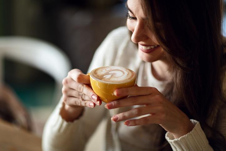 cafetera dos cafés
